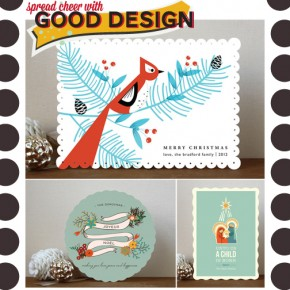 A Well Designed Holiday: Minted Cards & Party Decor