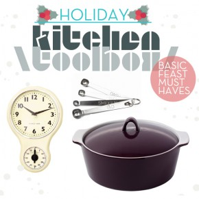 Holiday Toolbox: Kitchen Essentials For Your Upcoming Feast