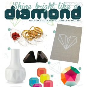 Shine Bright Like A Diamond: Sparkle Inspired Design For Your Home