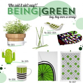Emerald Inspired Design For Your Kitchen & Table: It's So Easy Being Green