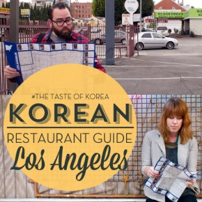 The Korean Restaurant Guide, Los Angeles