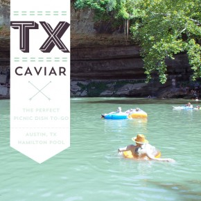 Hamilton Pool, Austin TX: Texas Caviar Recipe With Chorizo