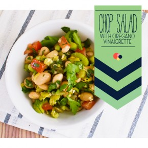 Side Show: Chopped Salad With Oregano Vinaigrette