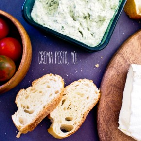 Culinary Throw Downs & The Crema Pesto Brie Grilled Cheese Sandwich
