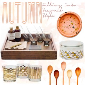 Autumn Inspired Kitchen Designs :: Swooning With The Season